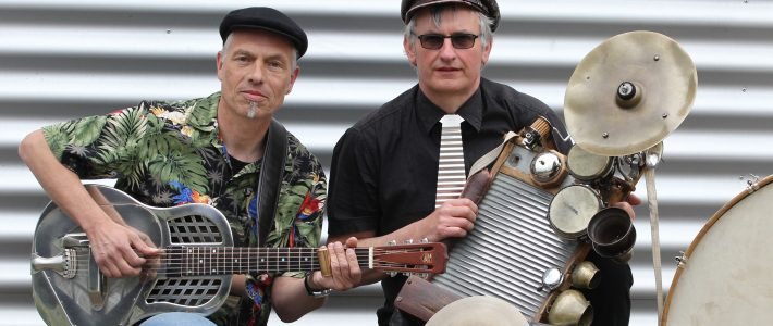 Greyhound`s Washboard Band (Duo)
